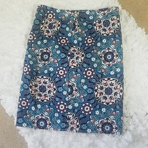 Loft Pencil Skirt, Size 8
